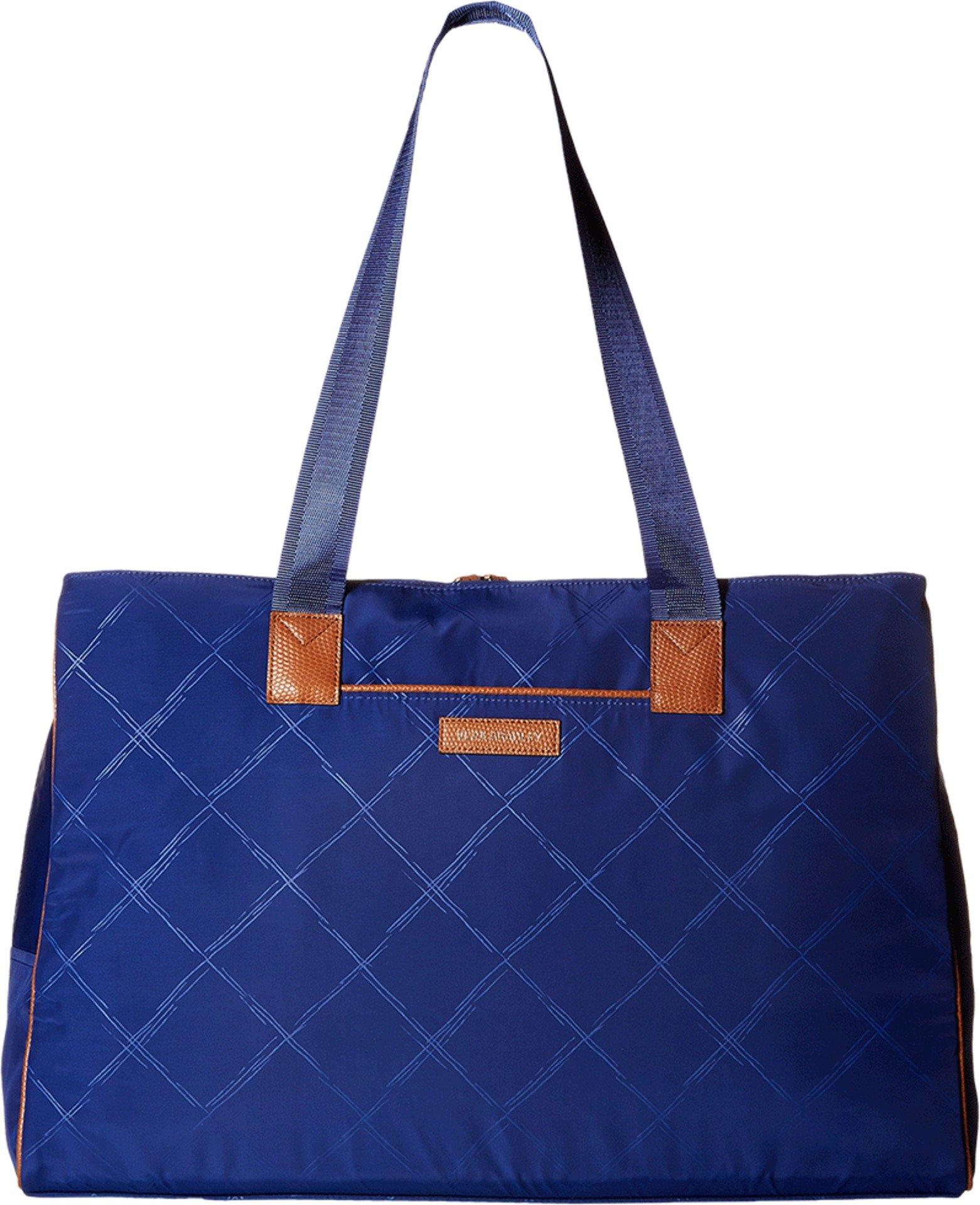Vera Bradley Women's Preppy Poly Triple Travel Bag Evening Sky Duffel Bag