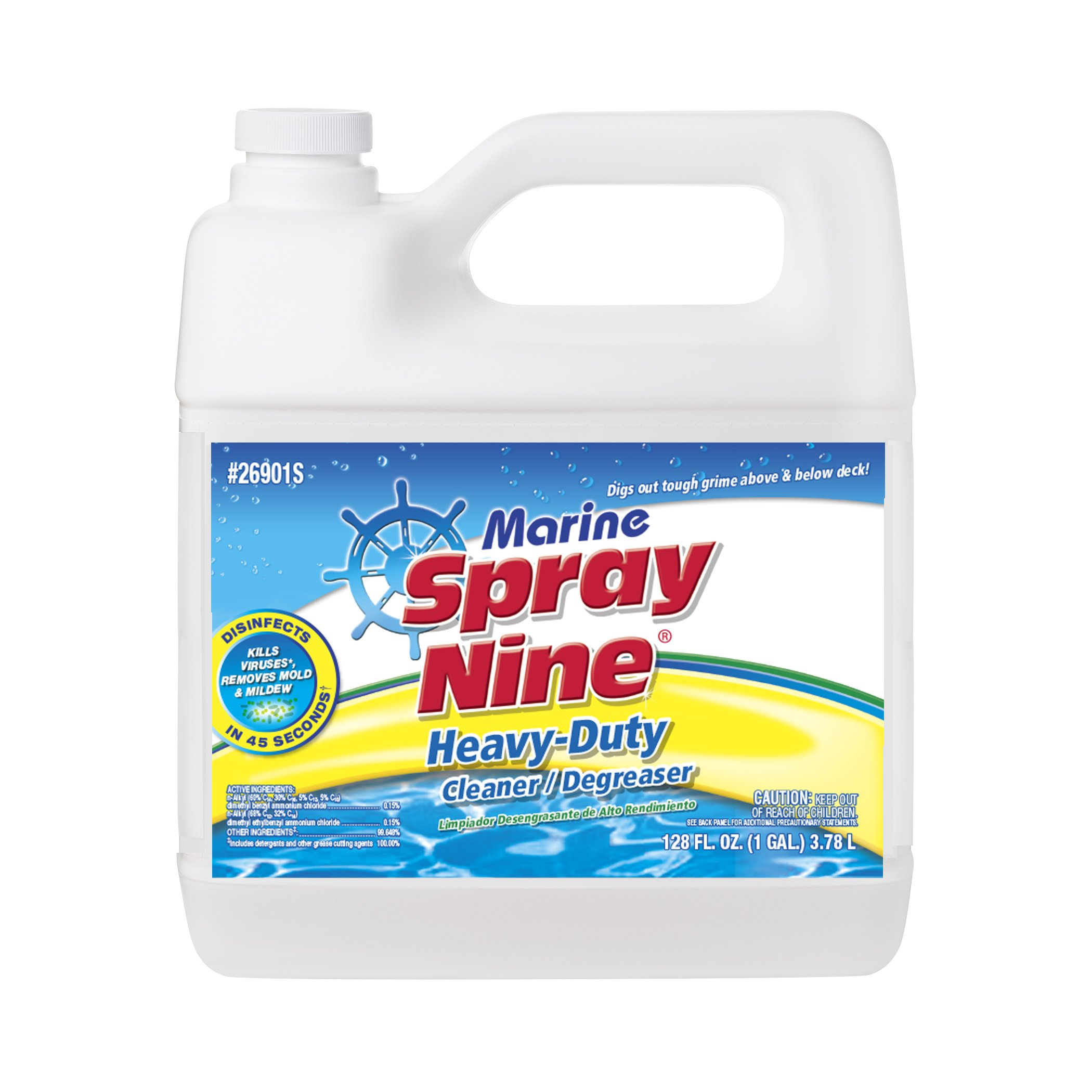 Spray Nine 26901S Marine Cleaner - 1 Gallon