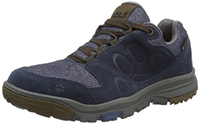 01100a9c Jack Wolfskin Men's Vancouver Texapore Low M Rise Hiking Boots, (Night Blue  1010)