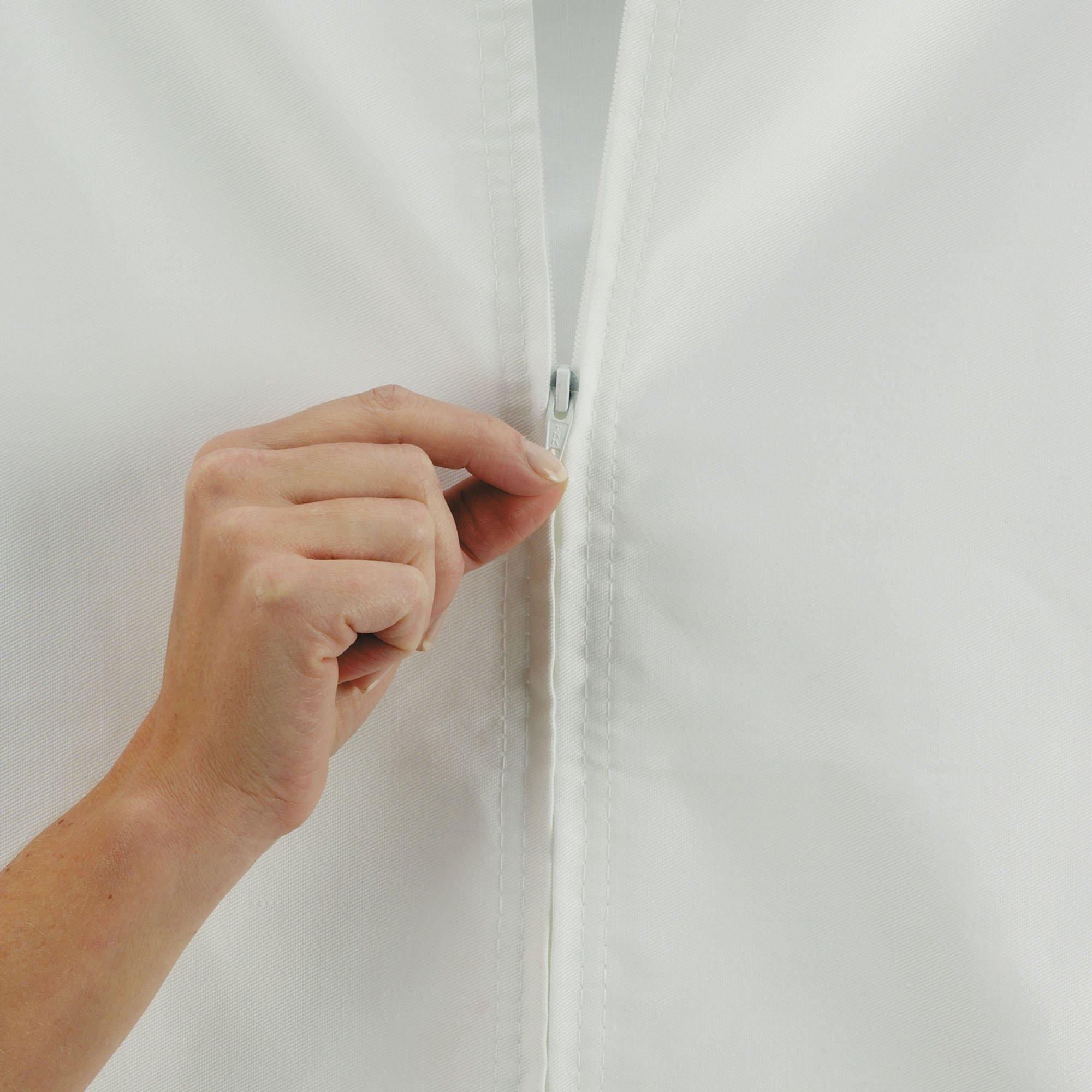 Household Essentials 148 Hanging Cotton Canvas Laundry Hamper Bag | White by Household Essentials (Image #6)