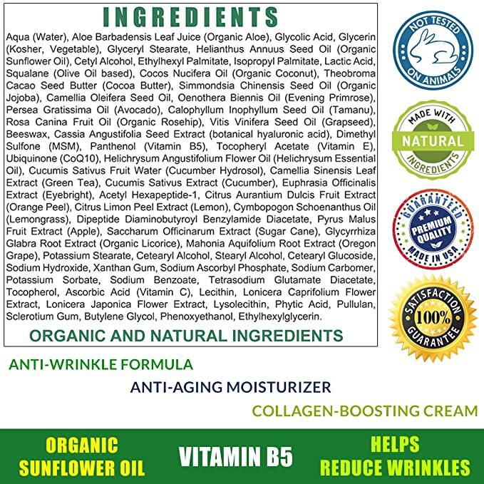 Total Activation impulsar colágeno lucha contra el envejecimiento crema de cara hidratante seco/grasa/sensible 2 oz: Amazon.es: Belleza