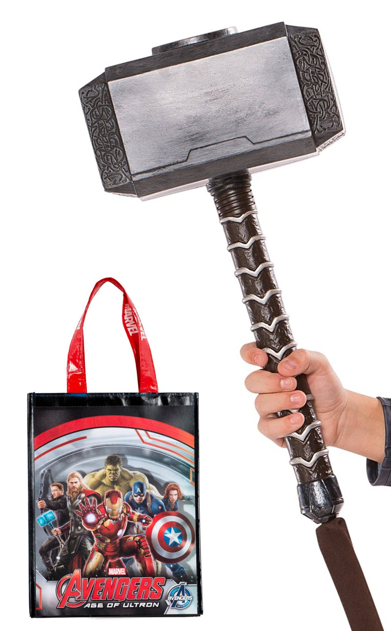 Rubie's Avengers Thor Molded Hammer and Tote Bag by Rubie's