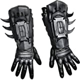 Rubie's Batman Gloves Batman Arkham Gloves Latex 68558