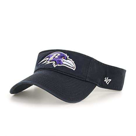 af75424447919 Amazon.com    47 NFL Baltimore Ravens Clean Up Adjustable Visor ...