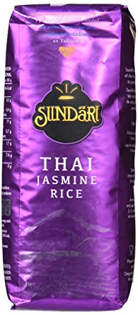 Sundari - Thai Jasmine 500 g - [Pack de 8]: Amazon.es ...