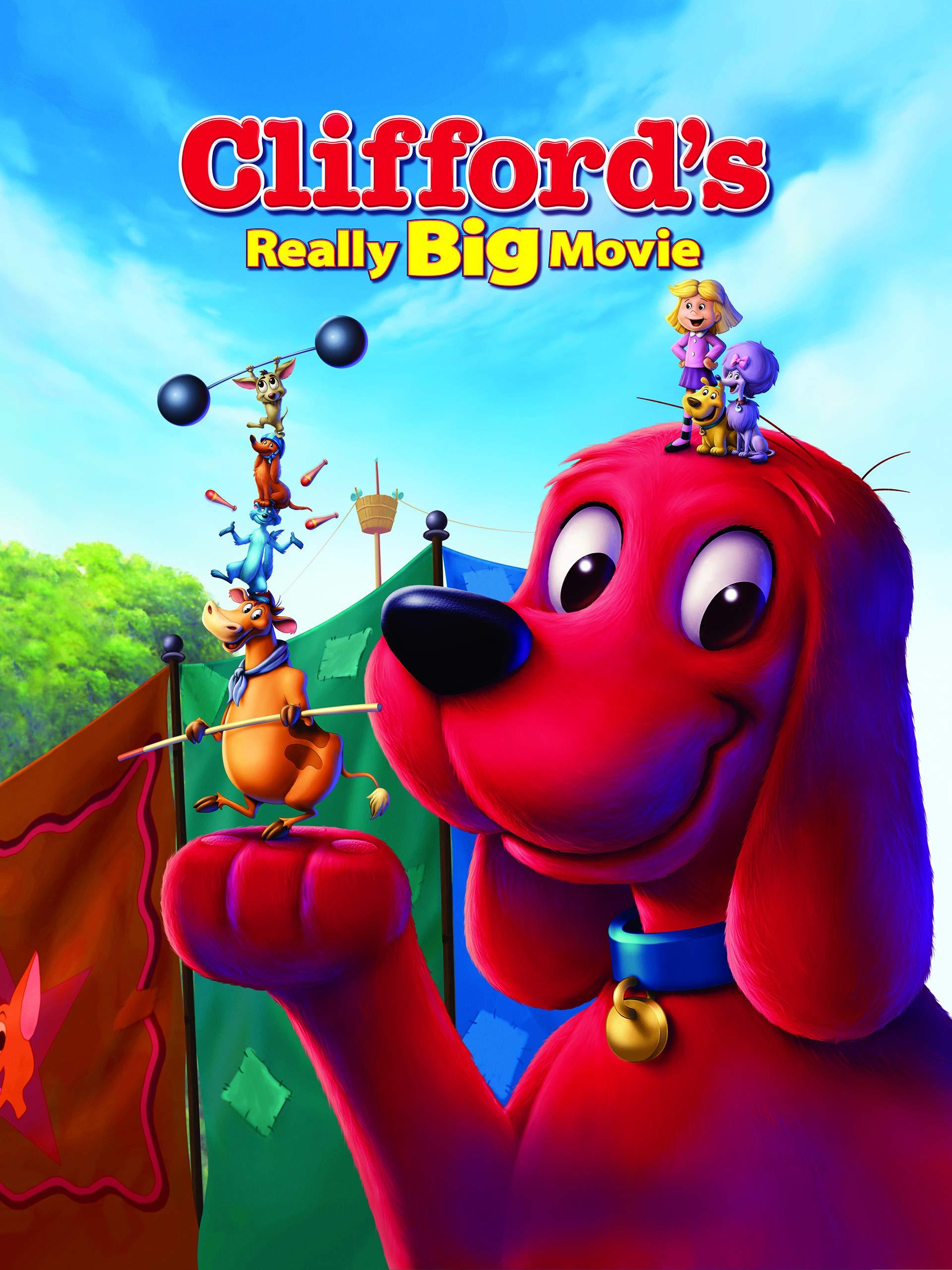 Amazon.com: Cliffords Really Big Movie: John Ritter, Grey DeLisle ...