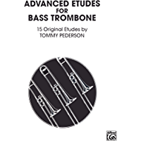 Etudes for Bass Trombone book cover