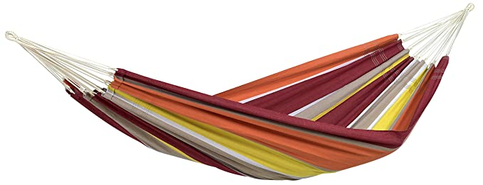 Byer of Maine Recycled Cotton Single Brazilian Barbados Hammock by (Acerola)
