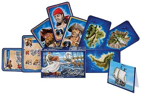 Adlung Spiele 46112 Antigua - Juego de cartas sobre piratas ...