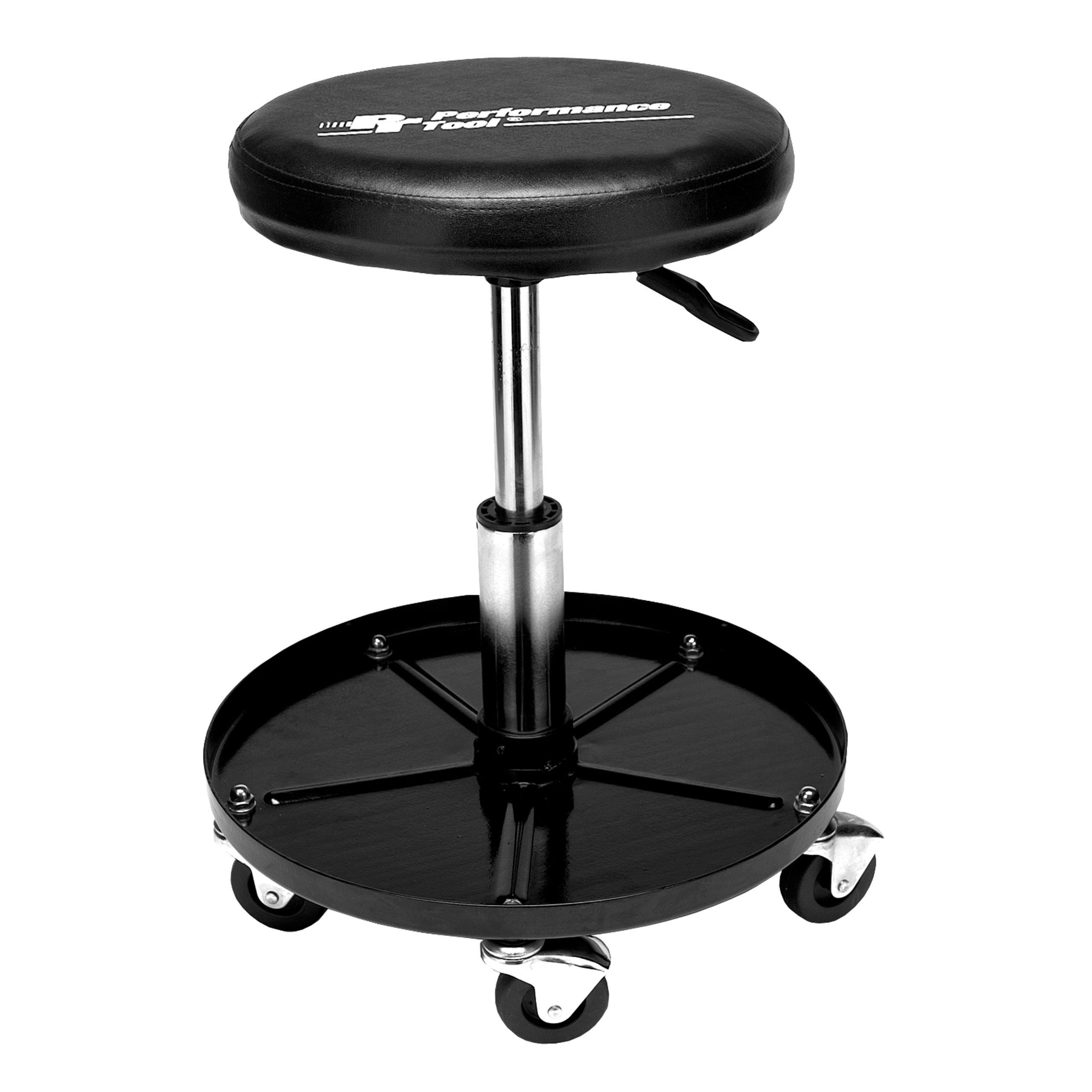 Performance Tool W85008 Professional Hydraulic Shop Seat