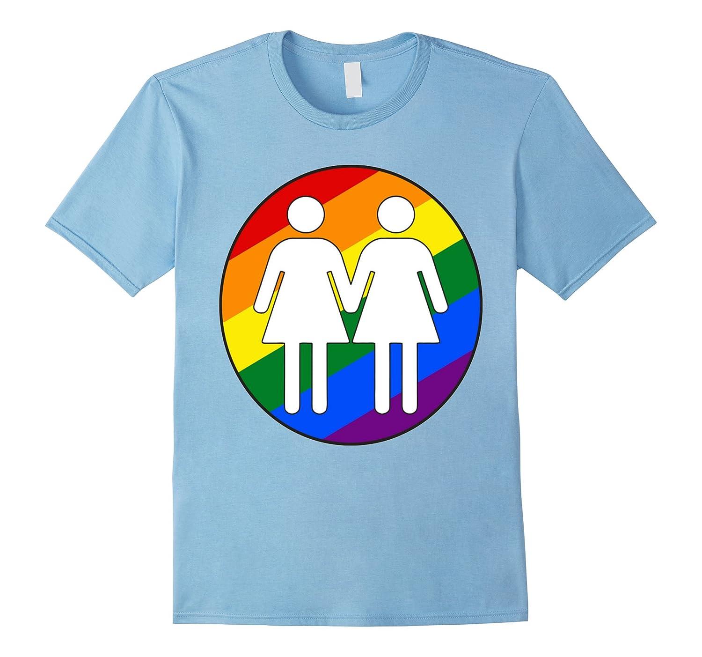 Girl + Girl Pride T shirt-BN