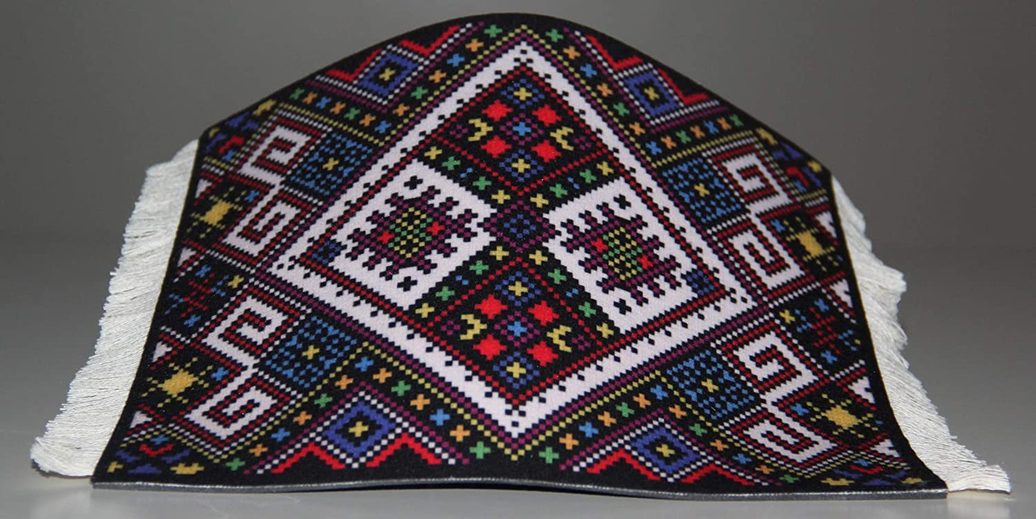 Washable Mouse pad Colorful and Elegant Best for a Gift Rug Style on