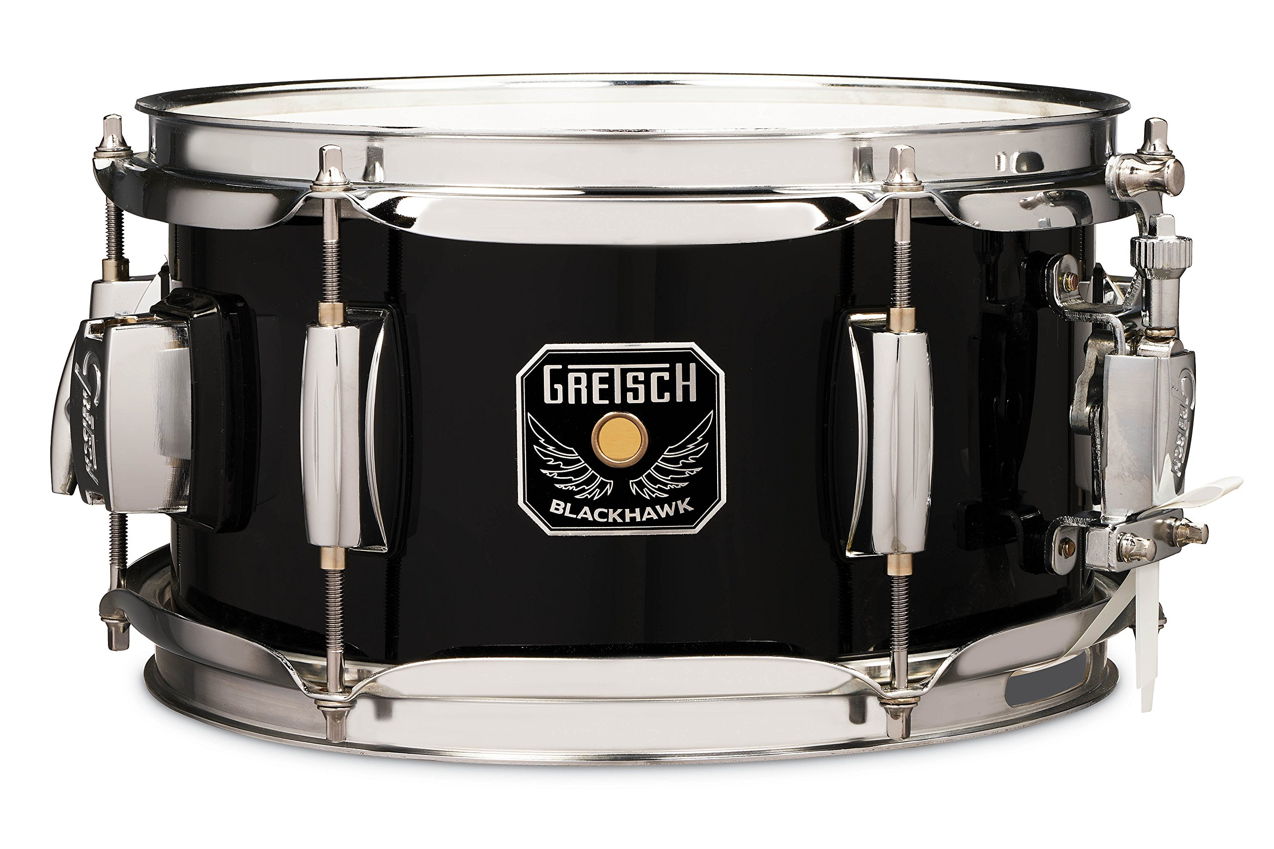 Gretsch Blackhawk Mighty Mini Snare 5.5x10 with Mount Black