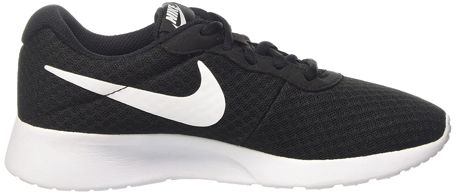 NIKE Women's Tanjun Running Shoes B00Y13L484 12 B(M) US|Black/White