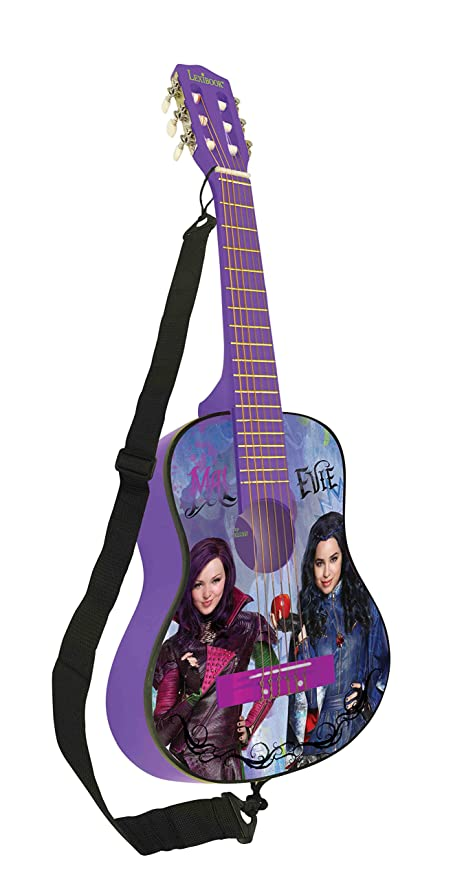 Los Descendientes de Disney Los descendientes - Guitarra clásica de 6 Cuerdas, 78 cm Largo