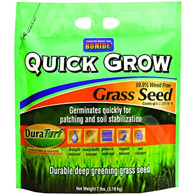 Bonide 60264 Quick Grow Grass Seed, 7-Pound : Grass Plants : Garden & Outdoor