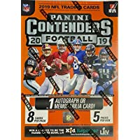 $24 » 2019 Panini Contenders NFL Football BLASTER box (40 cards incl. ONE Memorabilia or Autograph card)