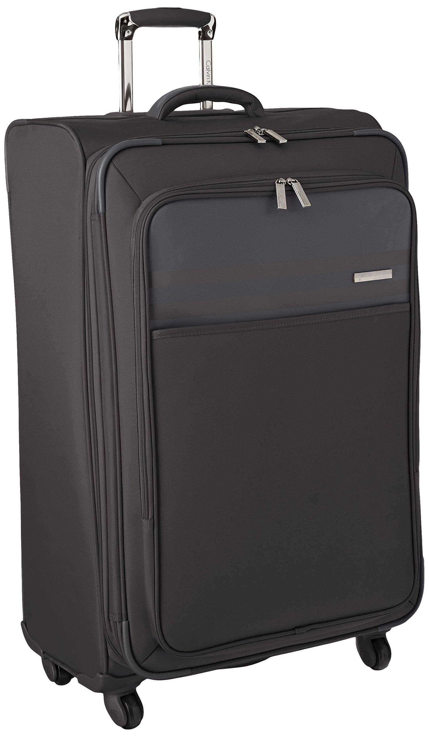 Calvin Klein Greenwich 2.0 29 Inch Upright Suitcase, Black, One Size