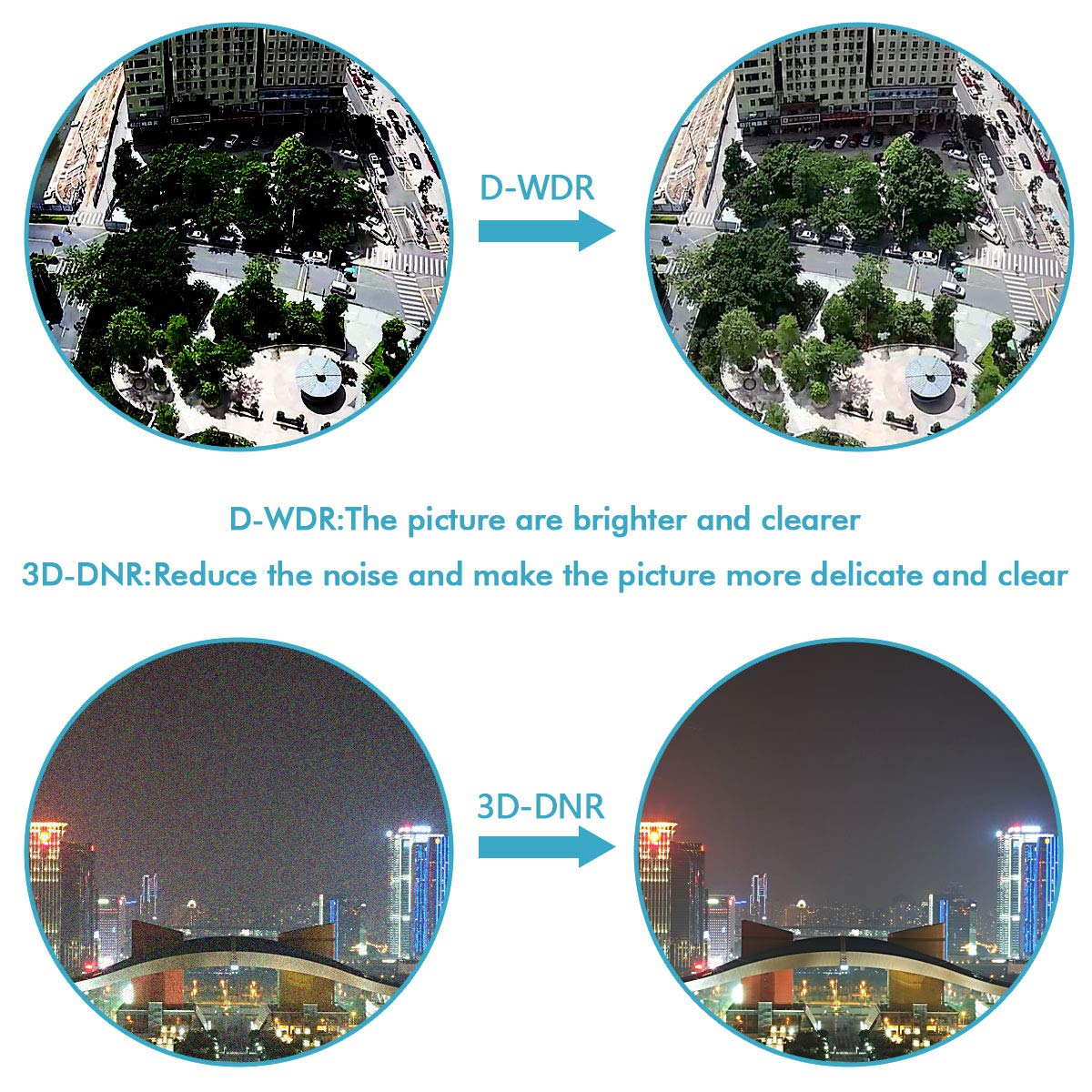 Tanto para Interiores como para Exteriores C/ámara de vigilancia con c/ámara Domo IP IP66 resoluci/ón 1920X1080 alimentaci/ón a trav/és de Ethernet PoE