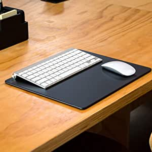 Dacasso Black Leather 14 x 11.5 Conference Table Pad, 1 Piece