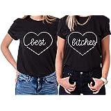 Best Bitches King Queen Partner Look Pärchen Valentinstag T-Shirt