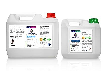 Resina epoxi de alta calidad, una capa transparente Resin4Decor Art Resin, 7.5L