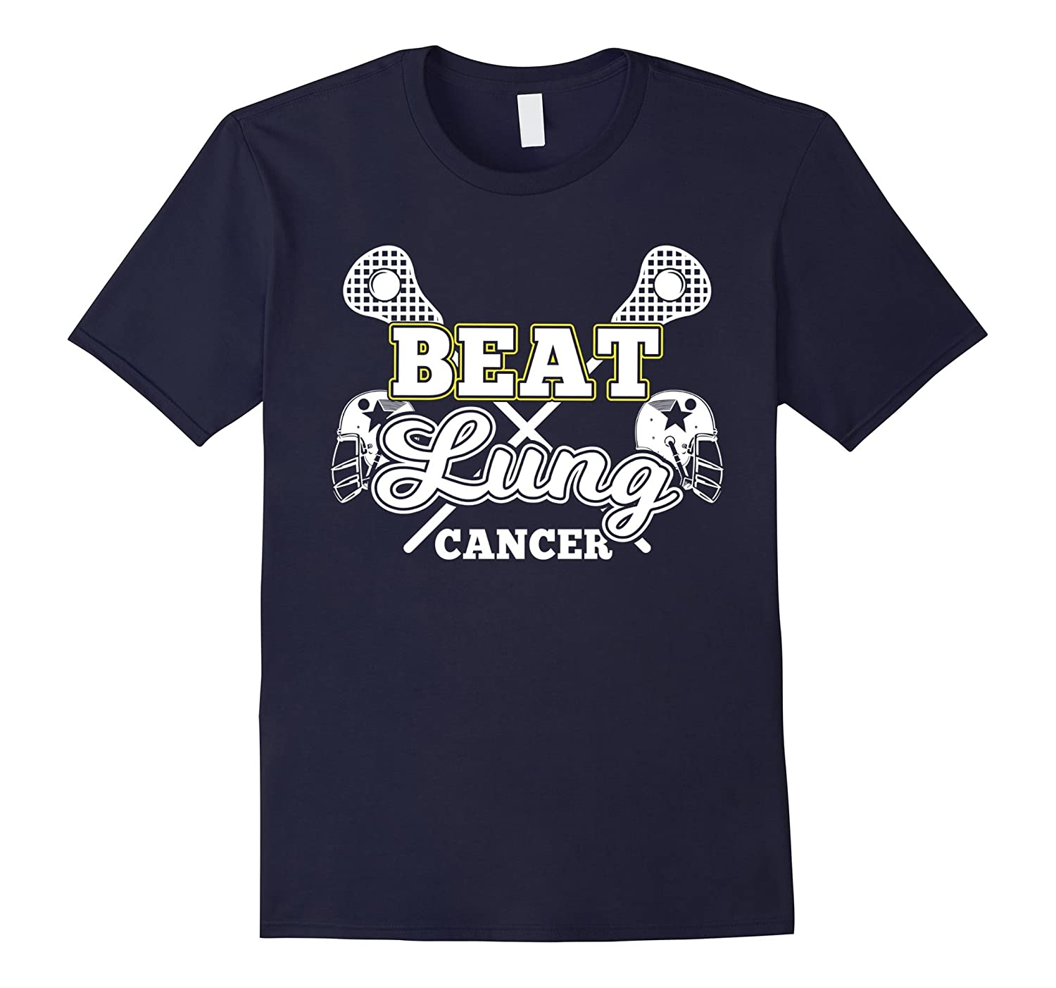 Lung Cancer Awareness Beat Lung Cancer With A Stick Lacrosse-FL