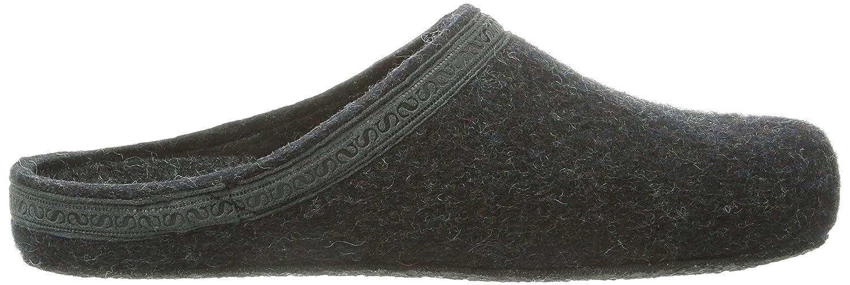 Stegmann 127 127 127 Unisex-Erwachsene Pantoffeln Grau (Graphit 8801) aec2ae