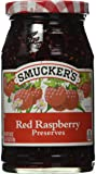 Smucker's  Red Raspberry Preserves, 18-Ounce (Pack of 4)
