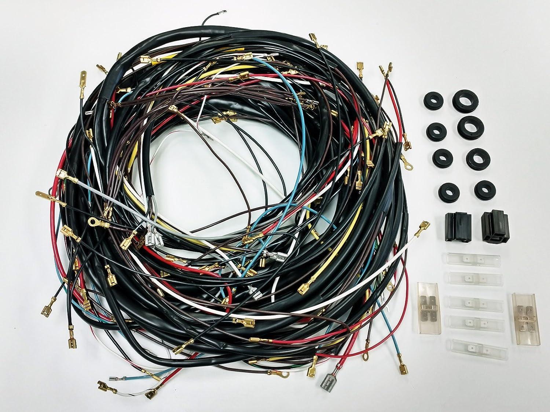 Amazon.com: 1968-1969 ALL Karmann Ghia VW COMPLETE Wiring Works Wire Harness  Kit - USA MADE: Automotive