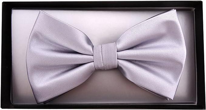 fiocco circonferenza del collo regolabile da 30 cm fino a 50 cm TigerTie Papillon Uni Satin confezione regalo