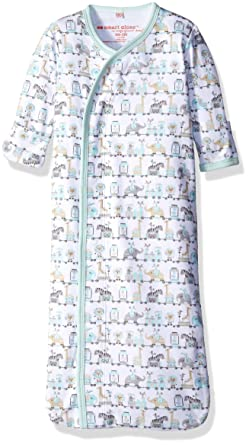Magnificent Baby Baby Magentic Sack Gown Darjeeling Express Green