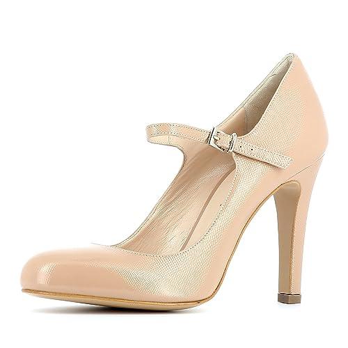 the latest 2209a 2e4a5 Rosa Y Zapatos Mujer Complementos es Evita 42 Para Piel Color De Shoes  Cristina Vestir Talla Amazon RqB0zA6