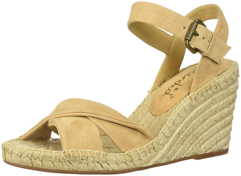 Splendid Women's Fairfax Espadrille Wedge Sandal B074R4YVYD 7 B(M) US|Nude