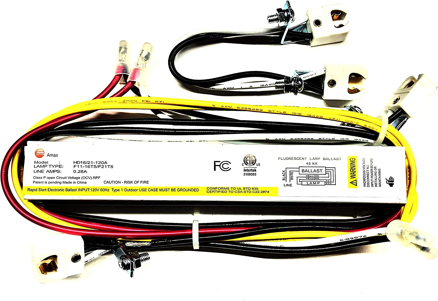HD8//13-120A Electronic Ballast for F8T5 or F13T5 Fluorescent Lamp