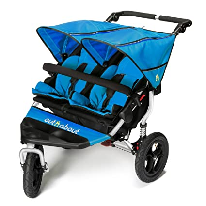 Out n About Nipper Doble v4 Carrito Laguna Azul