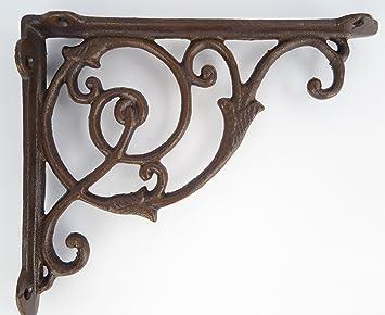 Favorit Winkel Wandhalterung Regalhalterung Eisen Antik rustikal für BG97