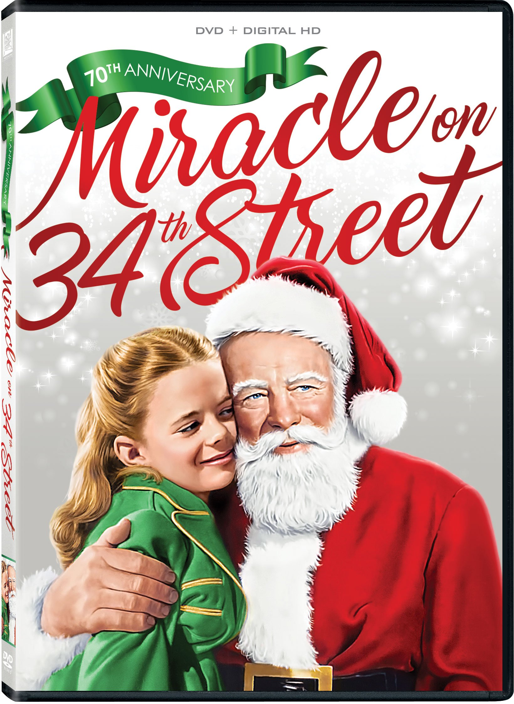 Book Cover: Miracle On 34th St bw