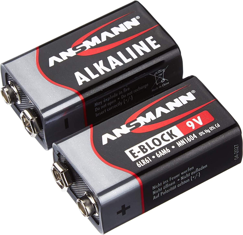 Ansmann Red Alkaline Batterie 9v E Block 6lr61 Longlife Elektronik