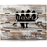Cade Rustic Wall Decor Sign, Decorative signs for Home or Outdoor,11.8 x 15.8 inches (Bird)