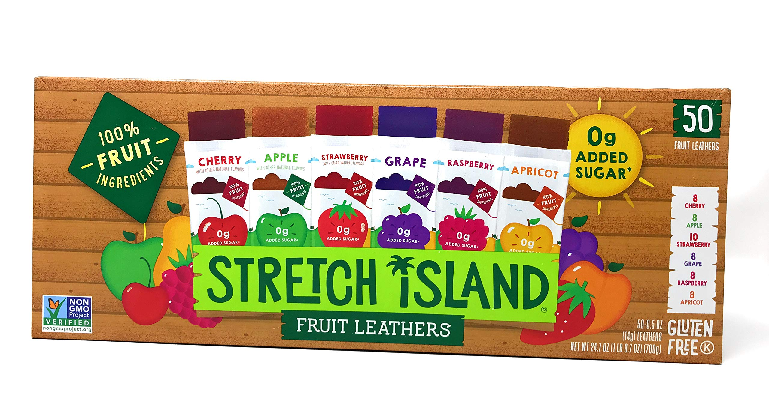 Stretch Island Fruit Leathers, 50 Count by Stretch Island Fruit Leathers