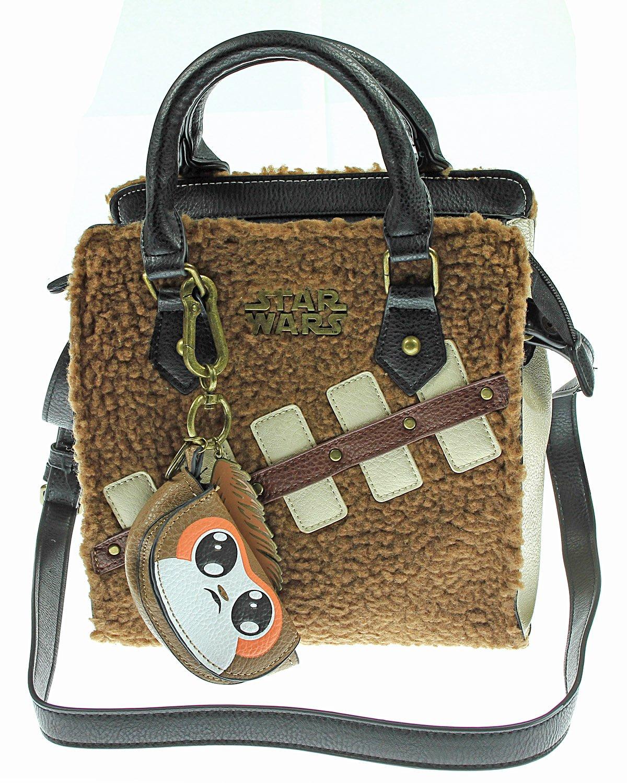 Star Wars Chewbacca Handbag with Mini Porg Coin Purse