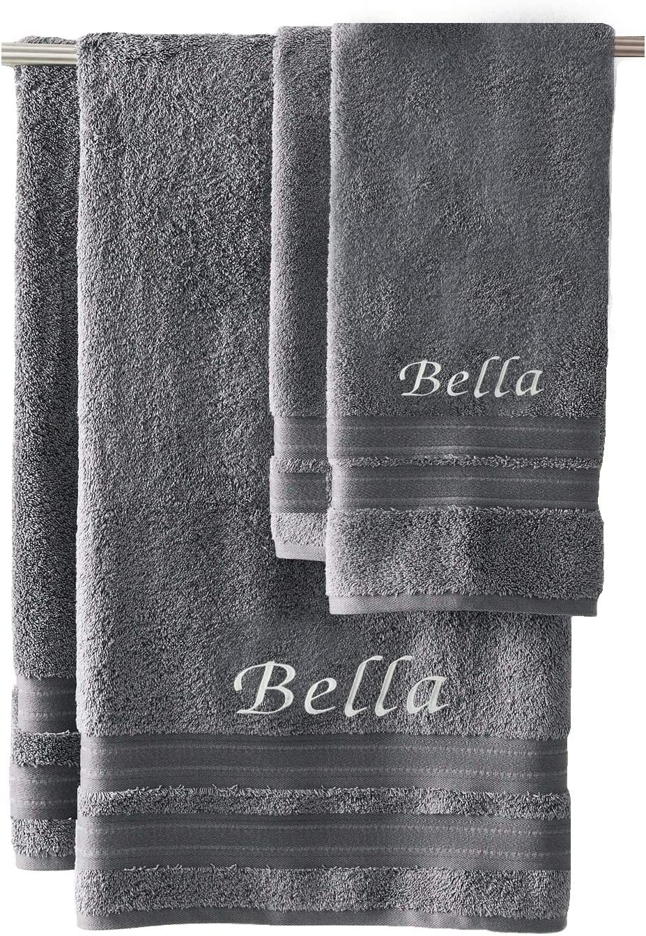 Star Trek Designs Embroidered Personalised Cotton Bath Towel