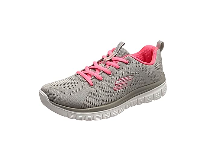 Skechers Graceful – Get Connected Sneakers Damen Grau