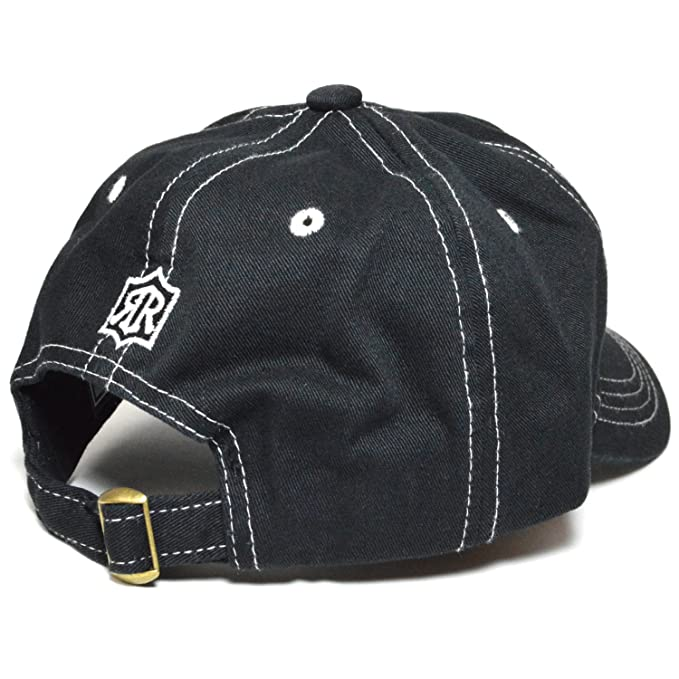 e87cc01dccc American Reign Embroidered Baseball Cap Polo Style Cotton Dad Golf Hat ( Black) at Amazon Women s Clothing store