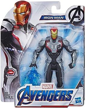 Amazon.com: Marvel Avengers: Endgame Team Suit Iron Man 5.9 ...