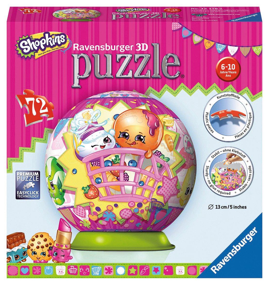 Ravensburger 12176 Shopkins 3D Jigsaw Puzzle - 72 Pieces