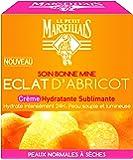 Le Petit Marseillais Crème Hydratante Sublimant Eclat Abricot Pot 50 ml - Lot de 2