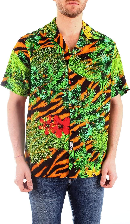 Versace B1GVB6B0S0783 - Camisa de manga corta para hombre ...
