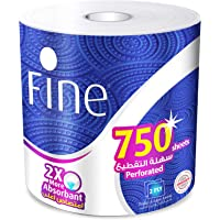 FINE Mega Roll Hand Towel 750 Sheets X 2 Ply